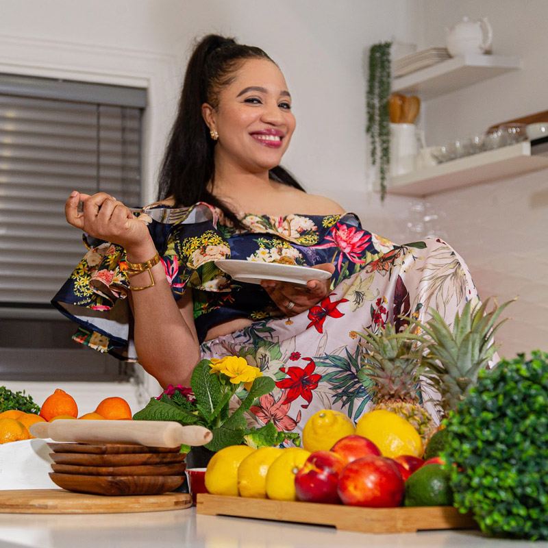 Christell Fokem - At Home With Christelle Cooking Edition